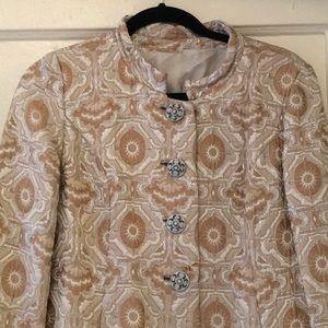 Vintage 1960's brocade coat
